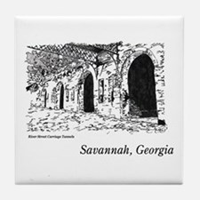 Savannah, Georgia Tile Coaster