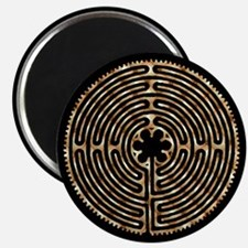 "Chartres Labyrinth Pearl 2.25"" Magnet (10 pack)"