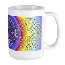 Chartres Labyrinth Pearl Mug