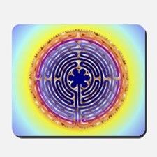 Chartres Labyrinth Pearl Mousepad