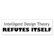 Intelligent Design Theory Refutes Itself