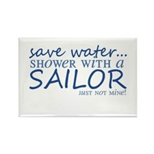 Save water ... Rectangle Magnet