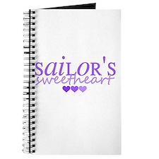 Sailor's sweetheart - purple Journal