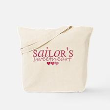 Sailor's sweetheart - pink Tote Bag