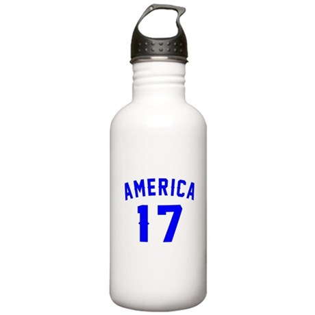 America 17 Birthday Stainless Water Bottle 1.0L