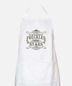 A Face Without Freckles Apron