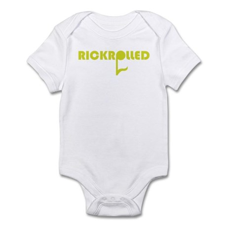 Rickrolled Infant Bodysuit