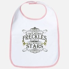A Face Without Freckles Bib