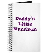 Daddy's Little Munchkin Journal
