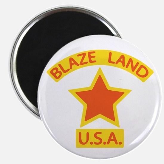 Blaze Land USA Magnet
