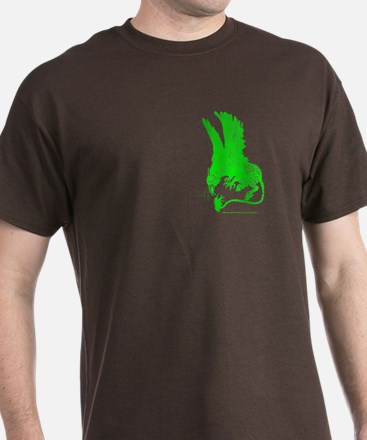 Hippogriff (Green) T-Shirt