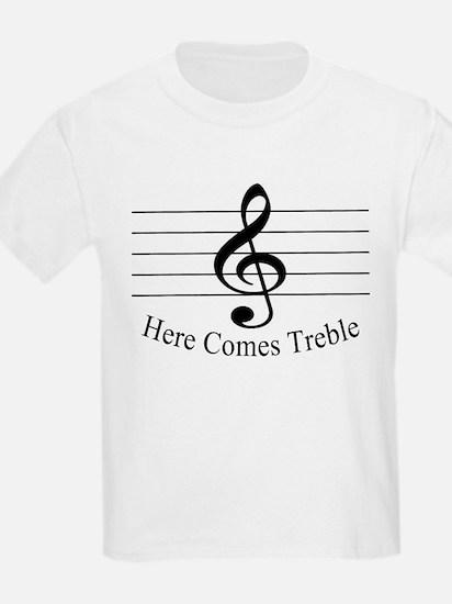 Here Comes Treble ..  Kids T-Shirt