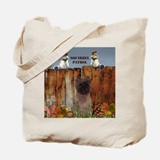 Cairn Terrier Squirrels Tote Bag
