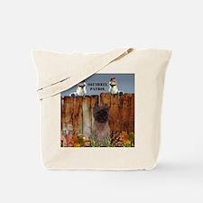 Cairn Terrier Squirrels Tote Bag