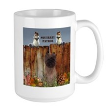 Cairn Terrier Squirrels Mug