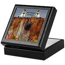 Cairn Terrier Squirrels Keepsake Box