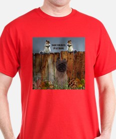 Cairn Terrier Squirrels T-Shirt