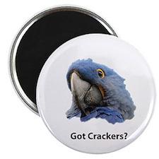 "Got Crackers? 2.25"" Magnet (100 pack)"