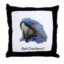 Got Crackers? Throw Pillow