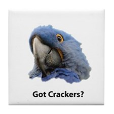 Got Crackers? Tile Coaster