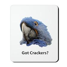 Got Crackers? Mousepad