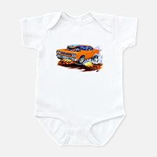 Roadrunner Orange Car Infant Bodysuit