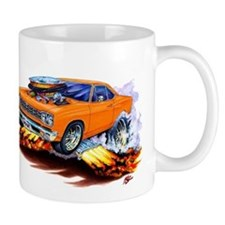 Roadrunner Orange Car Mug