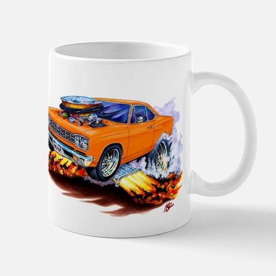 Roadrunner Orange Car Mug