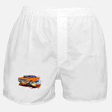 Roadrunner Orange Car Boxer Shorts