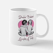 Double Blessed Grandma of Twins Mug