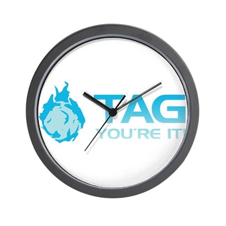 Tag you're it! Wall Clock
