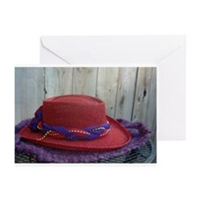 Red Hat Study Greeting Cards (Pk of 10)