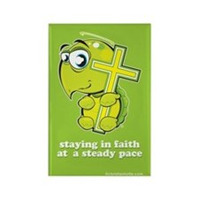 Christian Turtle Rectangle Magnet