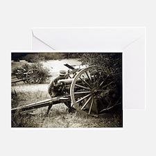 Vintage US Artillery Greeting Card