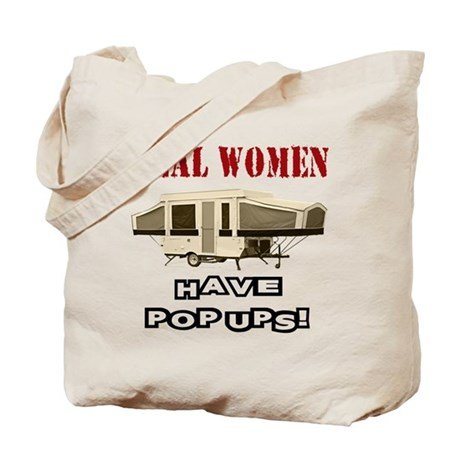 Real Women Pop Up Tote Bag