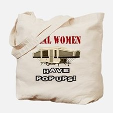 Real Women Pop Up Tote Bag