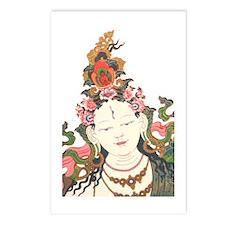 White Tara Postcards (Package of 8)