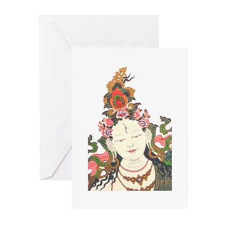 White Tara Greeting Cards (Pk of 10)