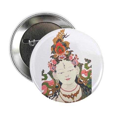"White Tara 2.25"" Button (100 pack)"