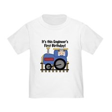 Engineer First Birthday T