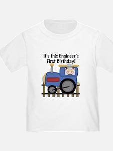Engineer First Birthday T