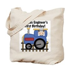 Engineer First Birthday Tote Bag
