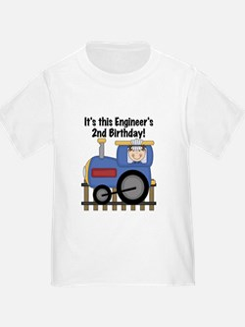 Engineer 2nd Birthday T