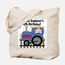 Engineer 4th Birthday Tote Bag