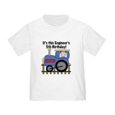 Engineer 5th Birthday T