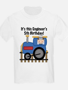 Engineer 5th Birthday T-Shirt