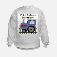 Engineer 5th Birthday Sweatshirt