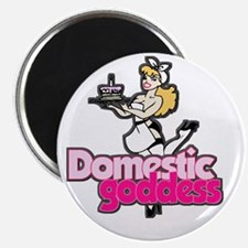 "Domestic Goddess 2.25"" Magnet (10 pack)"