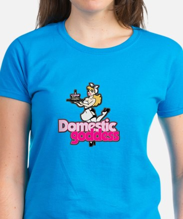 Domestic Goddess Women's Dark T-Shirt