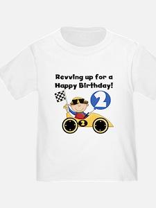 Race Car 2nd Birthday T